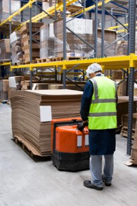 Logistik und Beschwerden im Nacken und Rücken