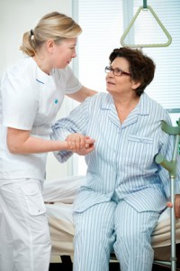 Rückenbelastung in der Pflege